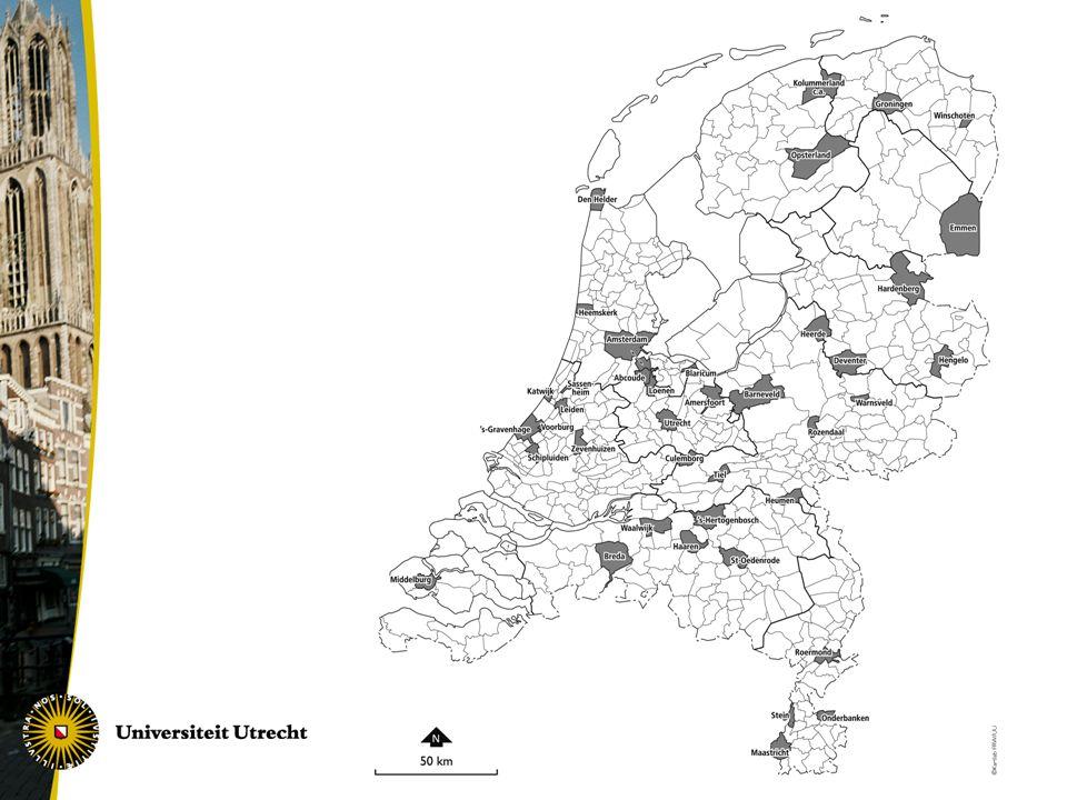 Welk aandeel van bedrijfsnetwerken is lokaal?