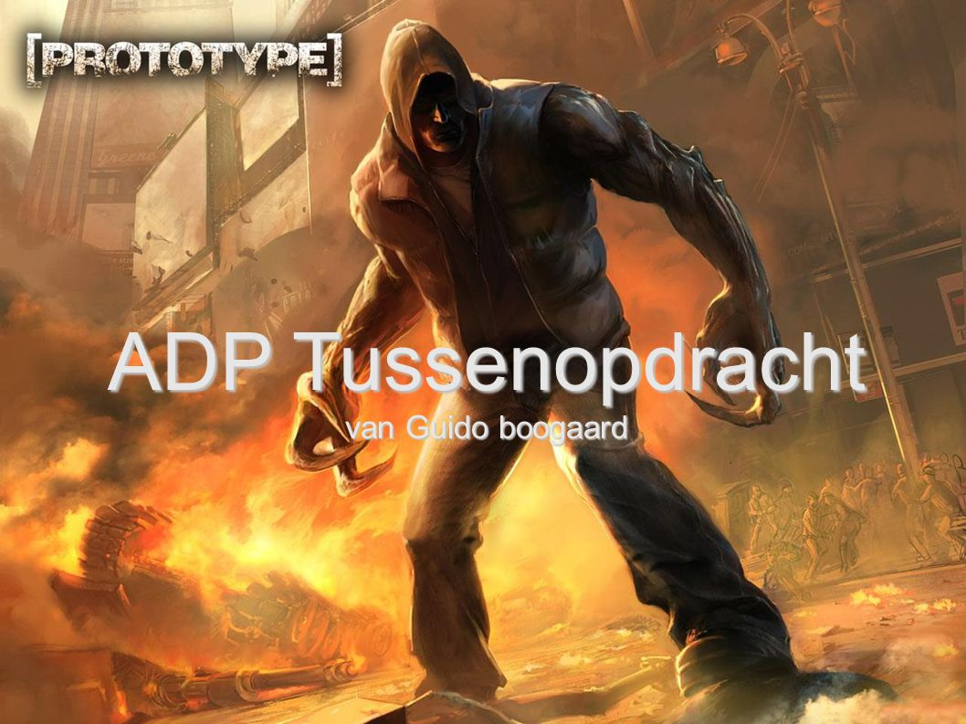 ADP Tussenopdracht van Guido boogaard