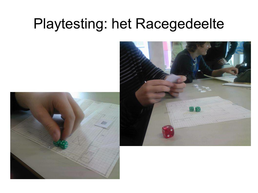 Playtesting: het Racegedeelte
