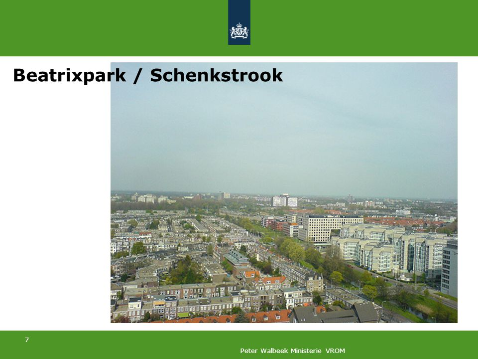 7 Peter Walbeek Ministerie VROM Beatrixpark / Schenkstrook