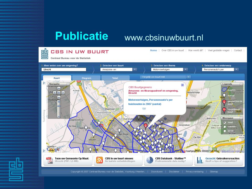 Publicatie www.cbsinuwbuurt.nl