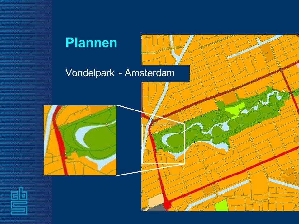 Plannen Vondelpark - Amsterdam