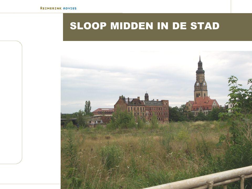 SLOOP MIDDEN IN DE STAD