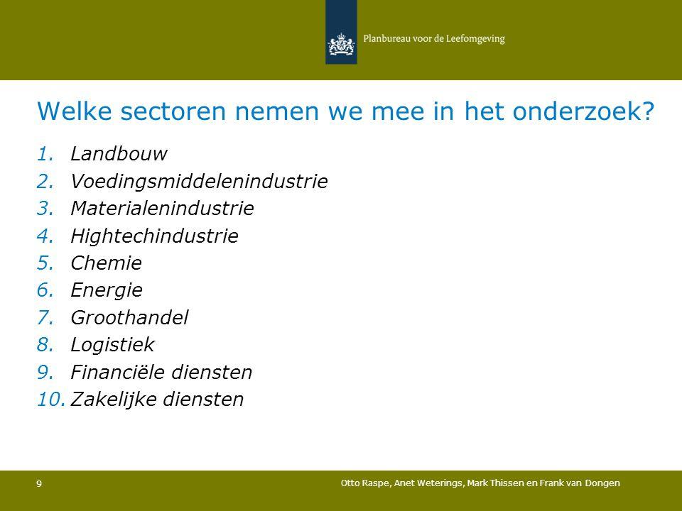 20 Otto Raspe, Anet Weterings, Mark Thissen en Frank van Dongen