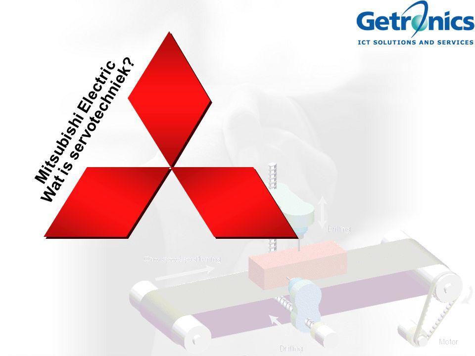 Mitsubishi Electric Wat is servotechniek?