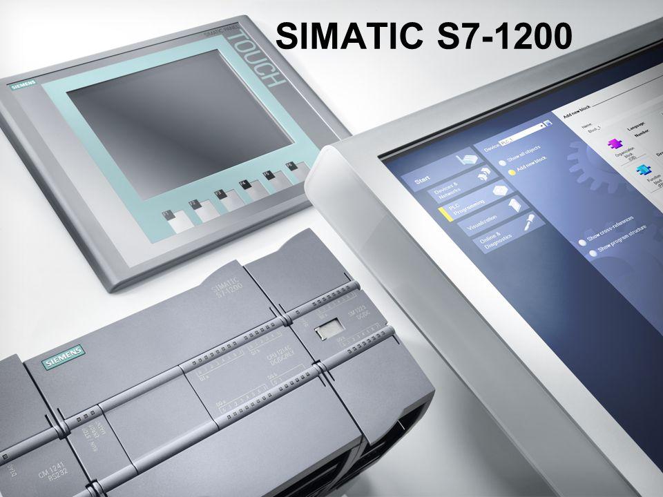 I IADT FA Het is het samenspel die het verschil maakt De nieuwe dimensie in compacte automatisering – Micro Automation en meer  met nieuwe compacte controllers SIMATIC S7-1200,  met de nieuwe SIMATIC HMI Basic Panels  en met de nieuwe engineering omgeving SIMATIC STEP 7 Basic voor zowel controller als HMI Klant Voordelen:  Hoge flexibiliteit door slimme oplossingen met schaalbare hardware  Eenvoudige configuratie van netwerken door gecoördineerde communicatie  Intuitiëve en snelle engineering voor programmering en parametrering