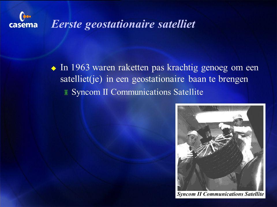 Afnemers van satellietdiensten u Professionele afnemers 3 kabeltelevisie exploitanten u Particuliere afnemers 3 DTH (direct to home)