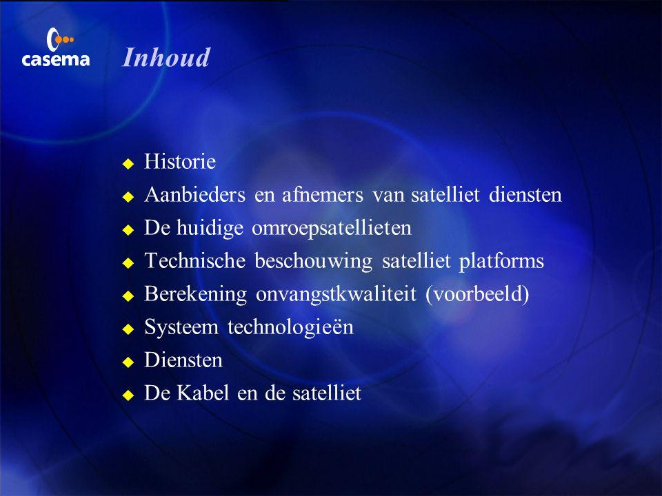 Fred van Let (e-mail: fvlet@office.casema.nl) F Manager van het Competence centre on Broadband Technology bij NV Casema F Voorzitter van de ECCA/EuroC