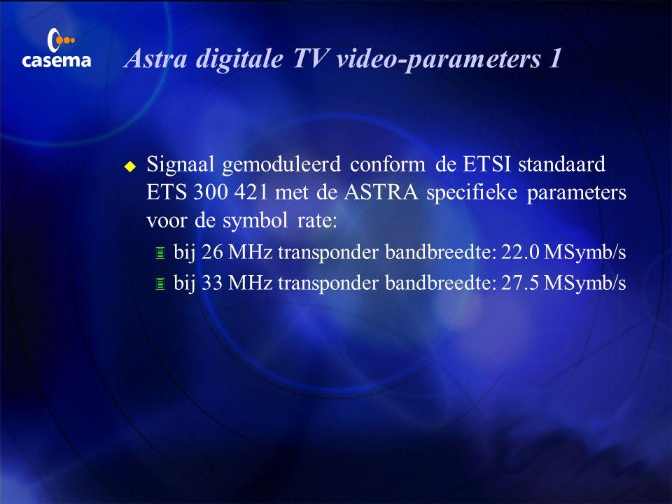 Teletext u Als teletext signalen worden uitgezonden in een televisieprogramma, moeten ze voldoen aan de specificaties voor Teletext System B zoals ged