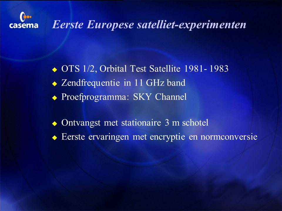 Hoe kabeltelevisie allemaal begon…. u In 1972 in stad Breda u Meer dan 100 000 aansluitingen u Hoogste frequentie 230 MHz u Capaciteit 6 tot 12 TV pro