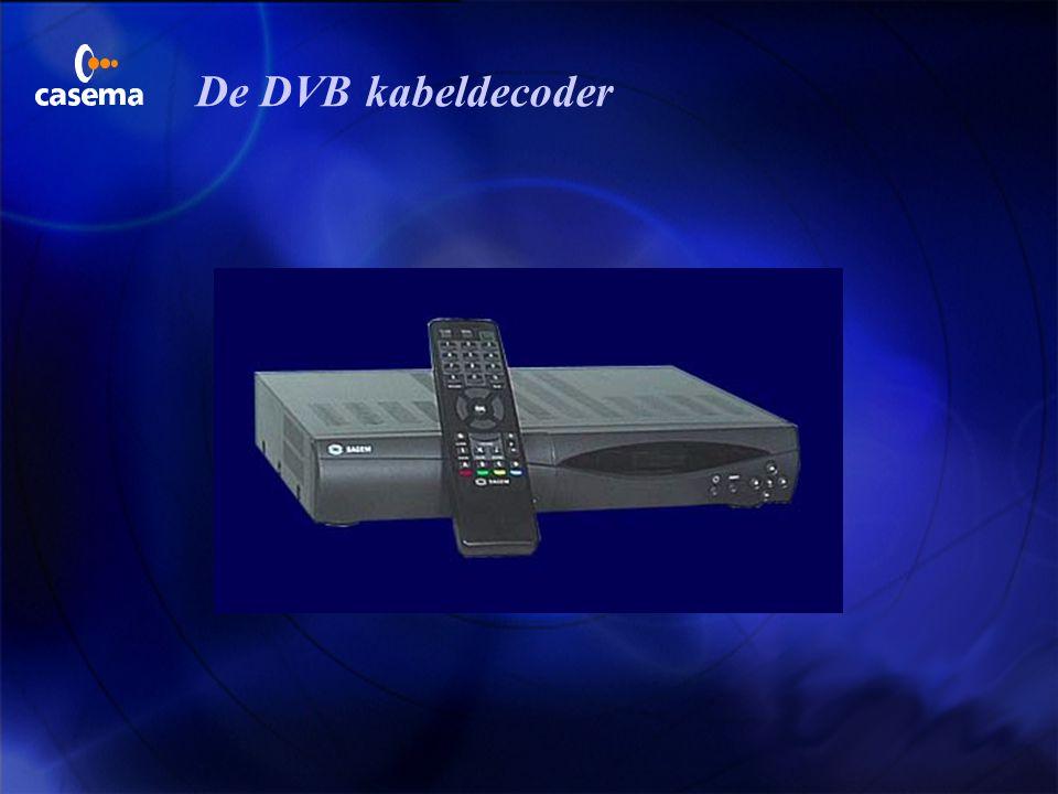 Blokschema DVB - CRD