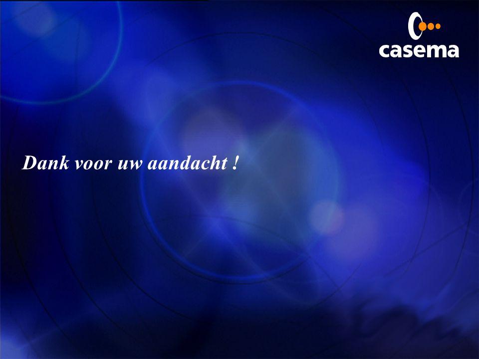 Attractieve diensten voor de klant wow, dat is fantastisch, Casema !