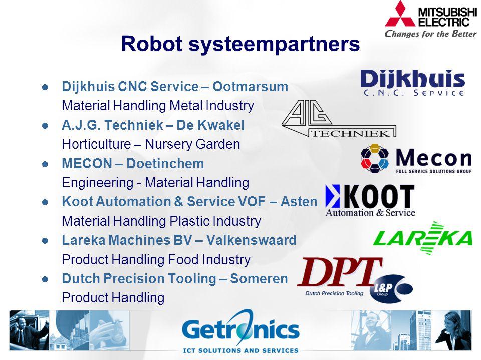 Robot systeempartners Dijkhuis CNC Service – Ootmarsum Material Handling Metal Industry A.J.G.