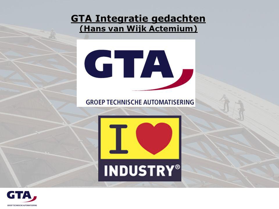 Integratie gedachte Signalen uit de markt - Algemeen  Verschuiving economische waarden  Nederland nichemarkt: actief en innoverend industriebeleid  Ontwikkeling van de Nederlandse High Tech Industrie  Onderschatting belang van de techniek