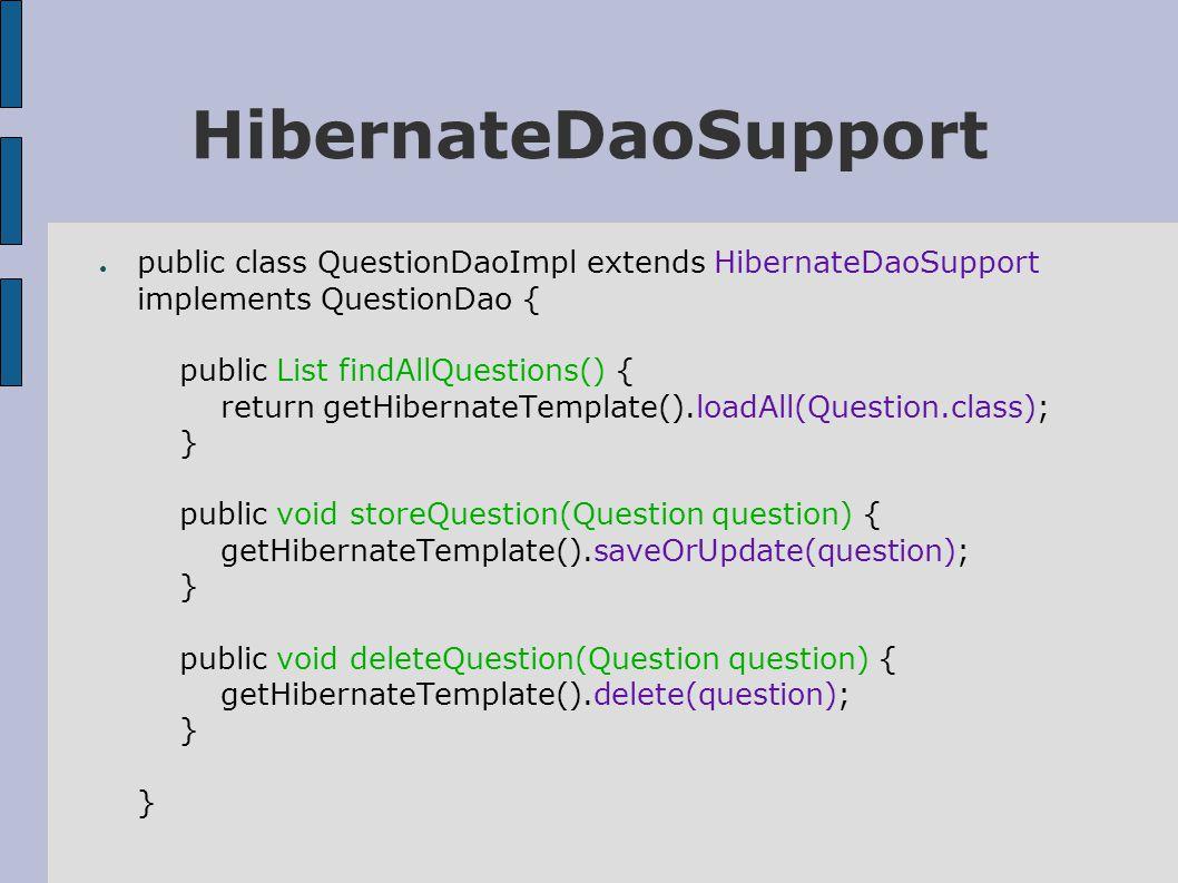 SessionFactory (1) ● Definieer een DataSource in spring: