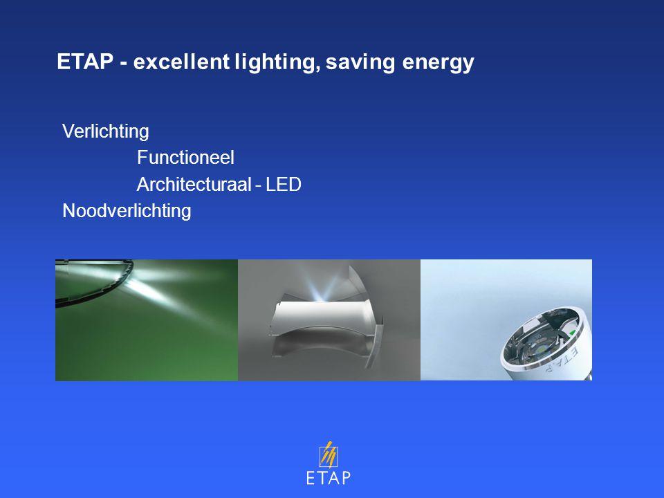 Verlichting Functioneel Architecturaal - LED Noodverlichting