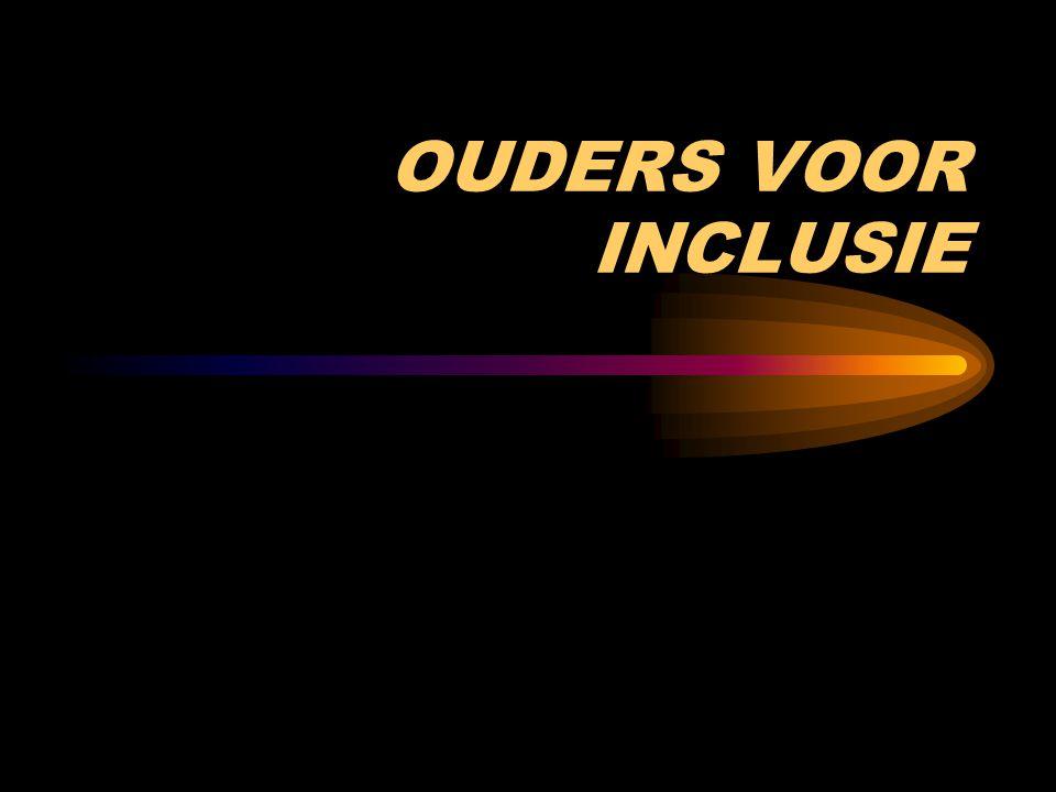 OUDERS VOOR INCLUSIE