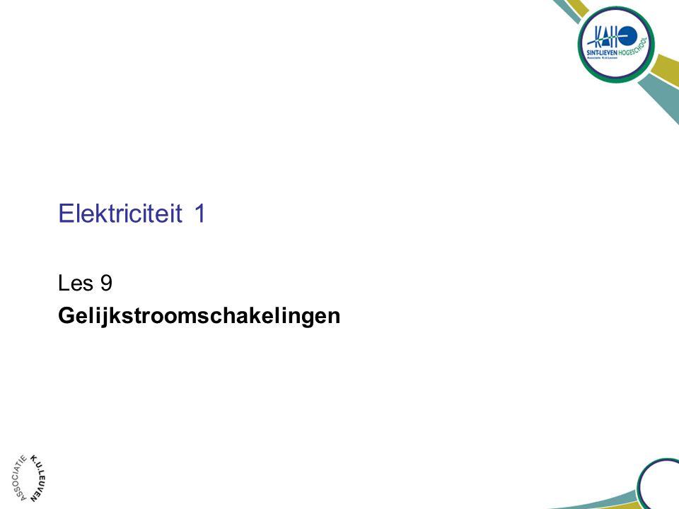 Hoofdstuk 26 – Gelijkstroomschakelingen 2-8-2014 - Hoofdstuk 26 -Gelijkstroomschakelingen 2 1.Elektromotorische kracht (emk) en klemspanning 2.Weerstanden in serie en parallel 3.De wetten van Kirchhoff 4.Spanningsbronnen in serie en parallel; batterijen opladen 5.Schakelingen met weerstanden en condensatoren (RC-schakelingen) 6.Gevaren van elektriciteit 7.(*) Ampèremeters en voltmeters Gelijkstroomschakelingen H o o f d s t u k 26