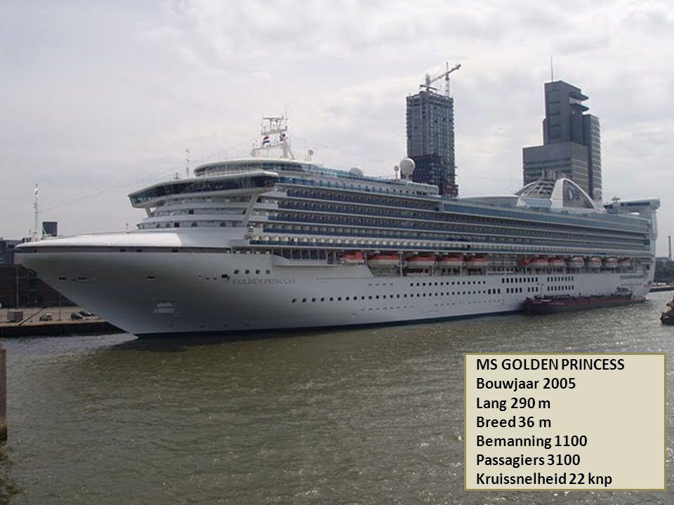 MS ARTANIA Bouwjaar 1984 Lang 231 m Breed 29 m Bemanning 420 Passagiers 1200 Kruissnelheid 15 knp