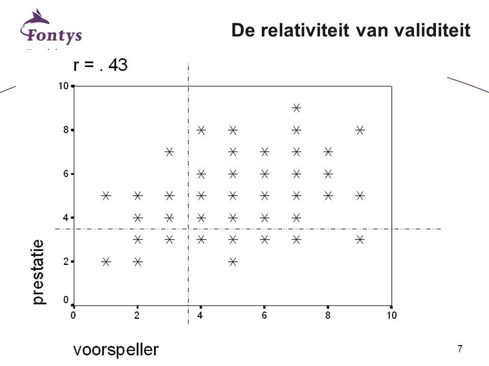 7 De relativiteit van validiteit
