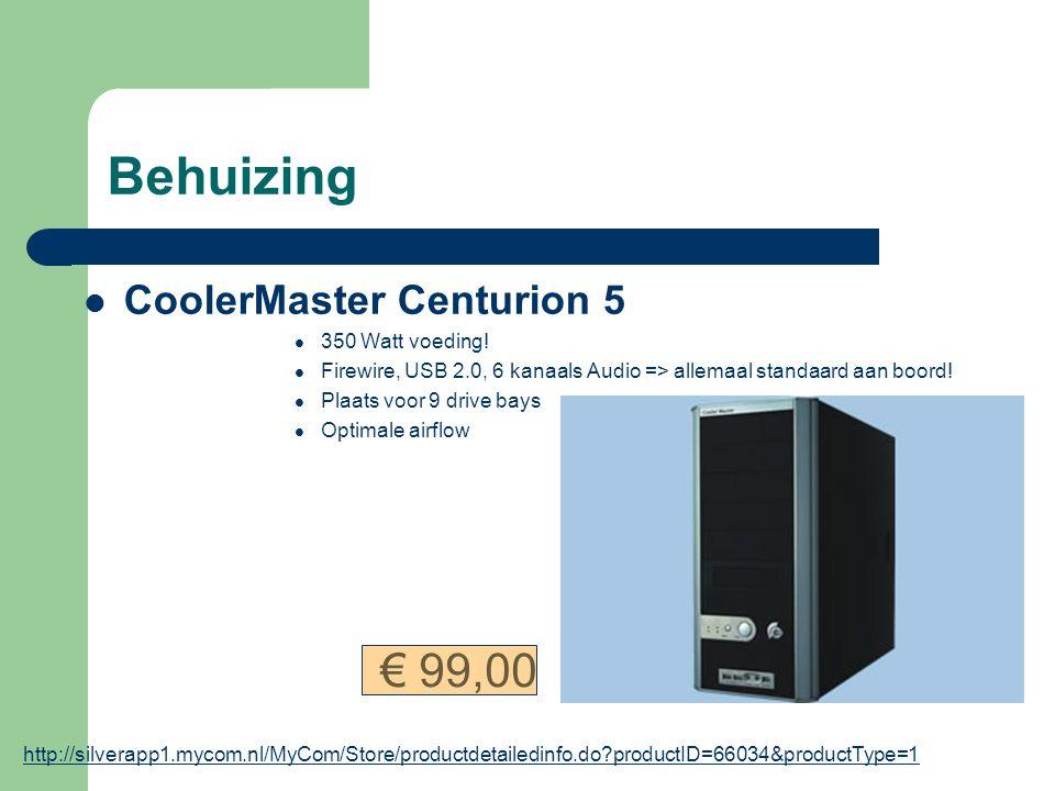Behuizing CoolerMaster Centurion 5 350 Watt voeding.