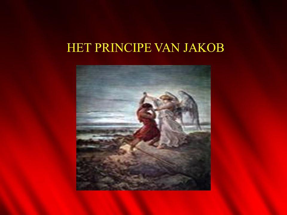 HET PRINCIPE VAN JAKOB 1.