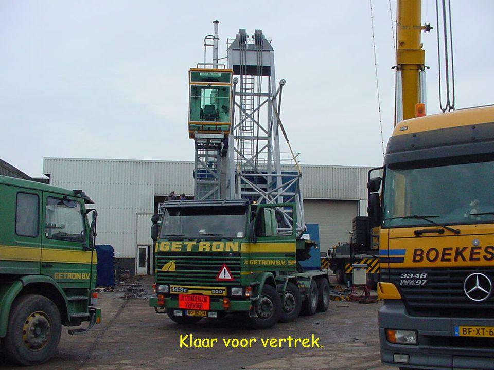 Op 6 december 2000 vond er een exceptioneel transport plaats van Pulleman Kraanbouw te Oude Tonge naar de loswal van de haven te Middelharnis. Dit tra