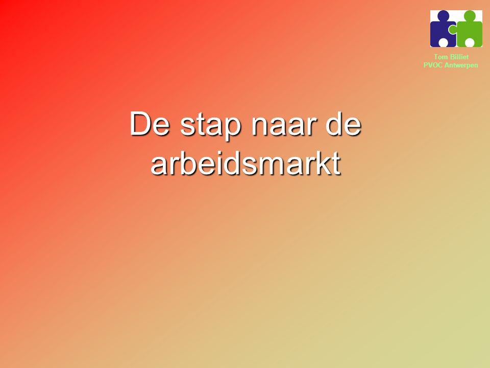 Tom Billiet PVOC Antwerpen De stap naar de arbeidsmarkt