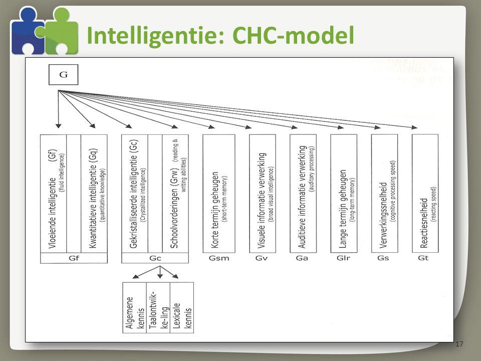 Intelligentie: CHC-model 17