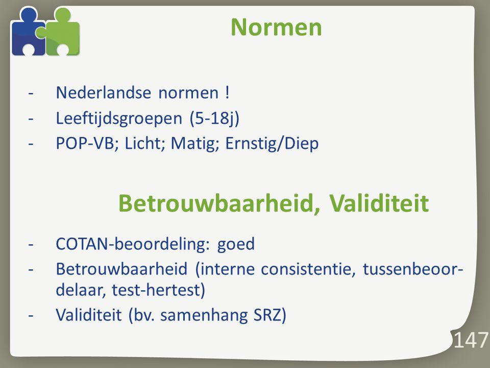 147 Normen -Nederlandse normen .