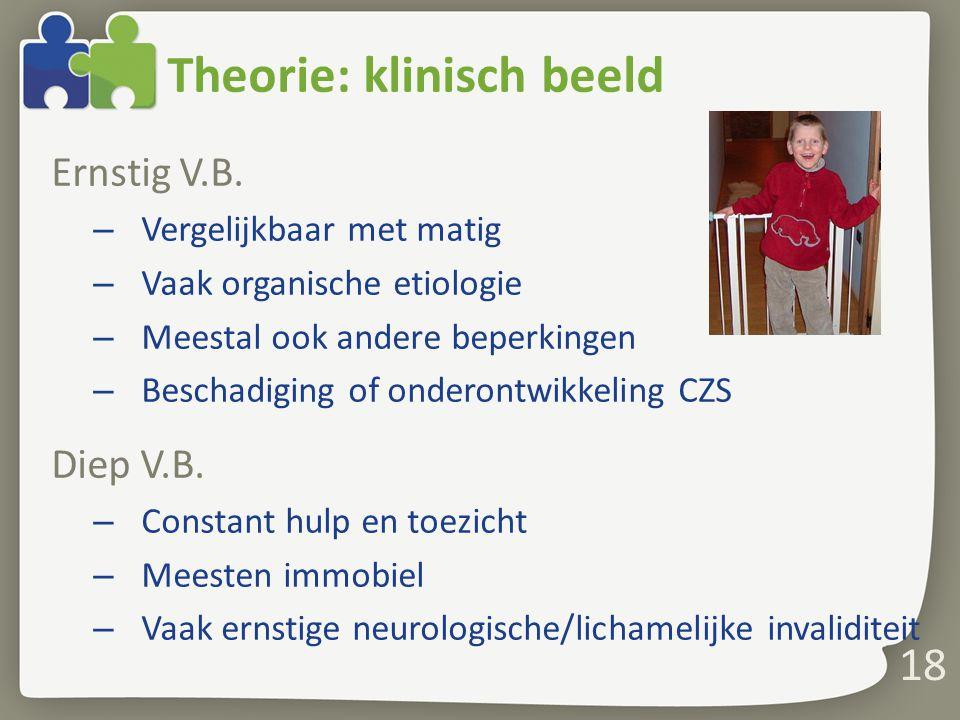 Theorie: klinisch beeld Ernstig V.B.