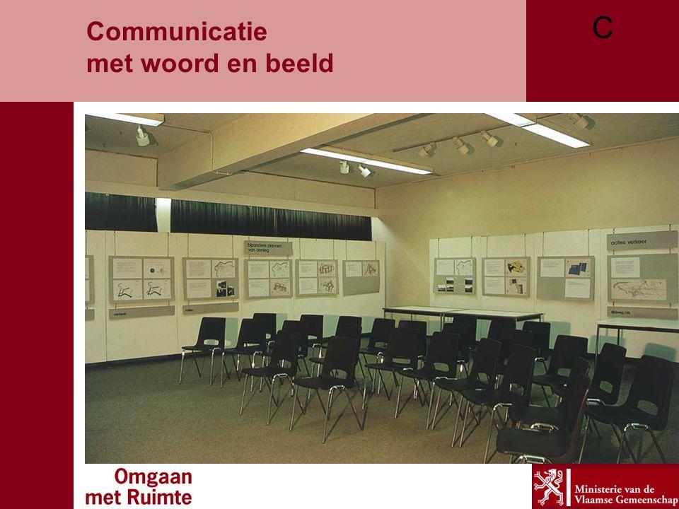 Communicatie met woord en beeld C