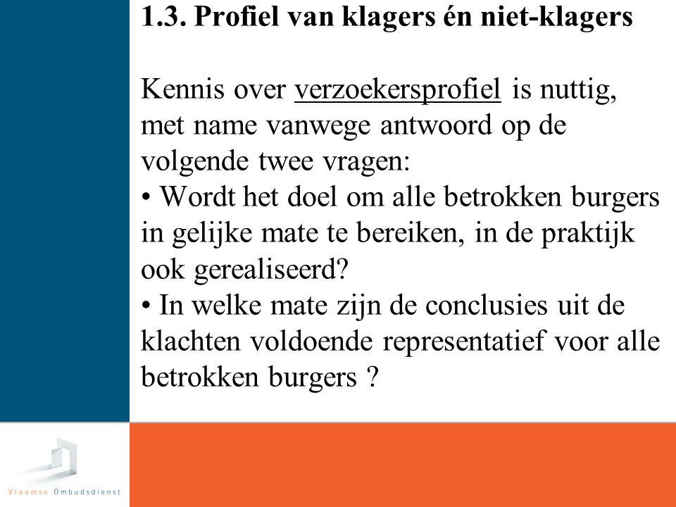 6 1.4 Mattheus-effect voorbeeld: Opleiding Vlaamse Vlaanderen Ombudsdienst Ombudsdienst Mechelen Lager/LSO13%25%41% HSO35%34%31% HO52%41%28% Kwaliteits- kranten 35%27%18%