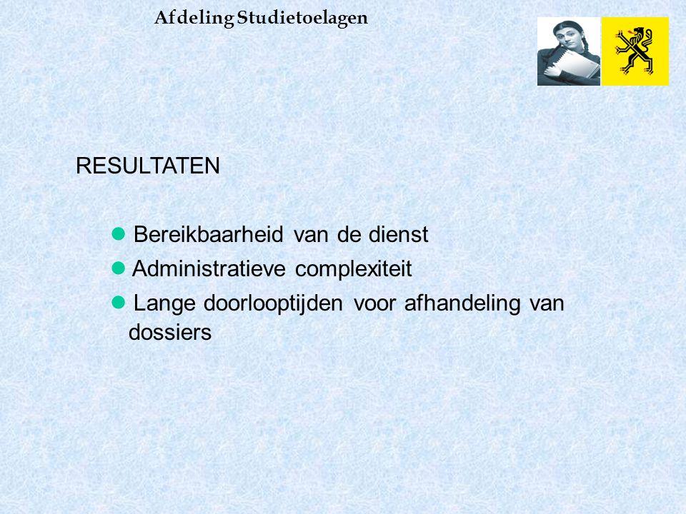 KWALITEITSBEWAKING Afdeling Studietoelagen > Klachtendecreet/Jaarverslag van de ombudsdienst Wat, wanneer Jaarlijks Registratie en opvolging van klachten