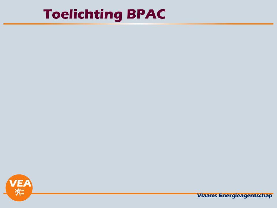 Toelichting BPAC
