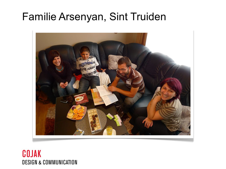 Familie Arsenyan, Sint Truiden