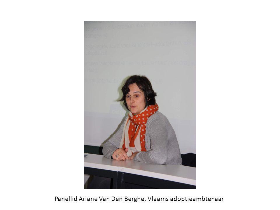 Panellid Ariane Van Den Berghe, Vlaams adoptieambtenaar