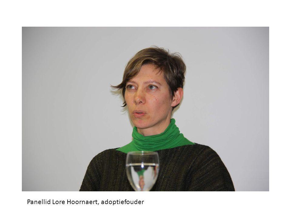 Panellid Lore Hoornaert, adoptiefouder