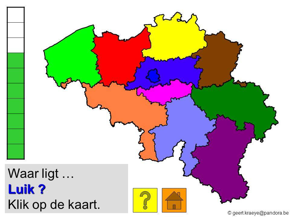 Luik ? Waar ligt … Luik ? Klik op de kaart. © geert.kraeye@pandora.be