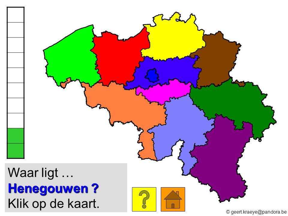 Antwerpen ? Waar ligt … Antwerpen ? Klik op de kaart. © geert.kraeye@pandora.be