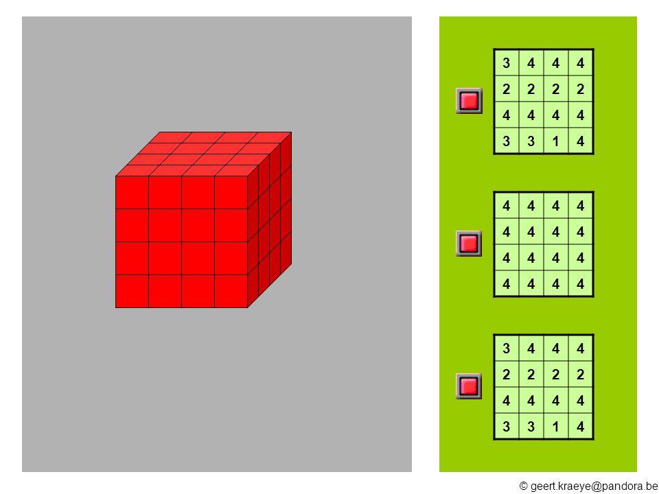 © geert.kraeye@pandora.be 15 16 17 21 19 10 13 11 12 Hoeveel blokken heb ik nodig ?