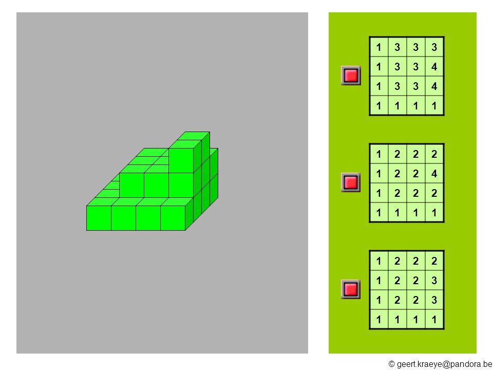 © geert.kraeye@pandora.be 15 16 17 18 19 10 13 12 11 Hoeveel blokken heb ik nodig ?