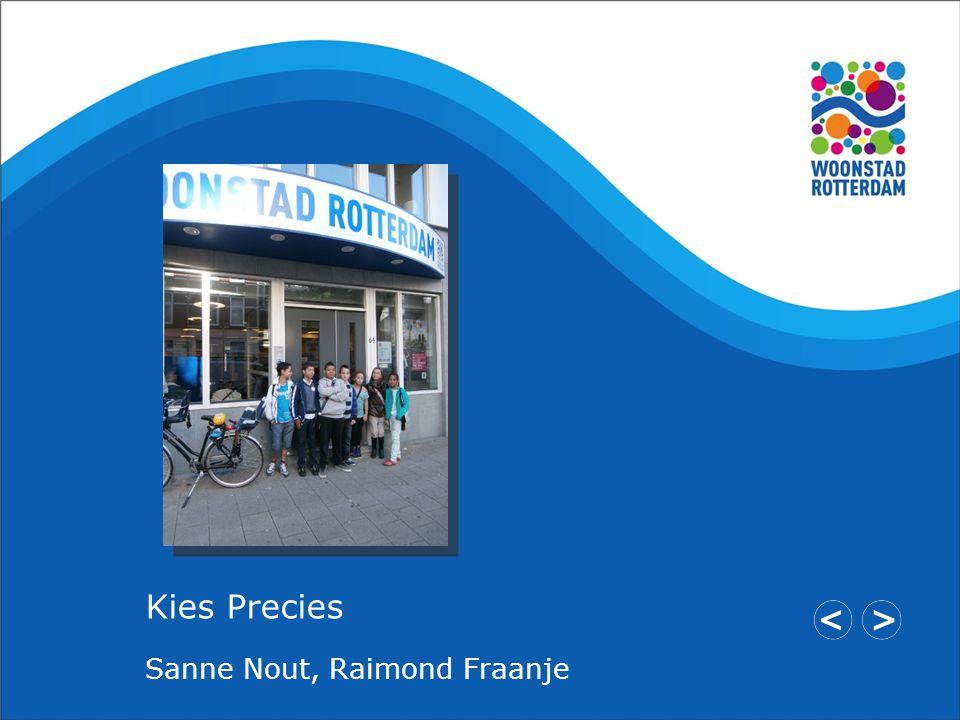 Kies Precies Sanne Nout, Raimond Fraanje