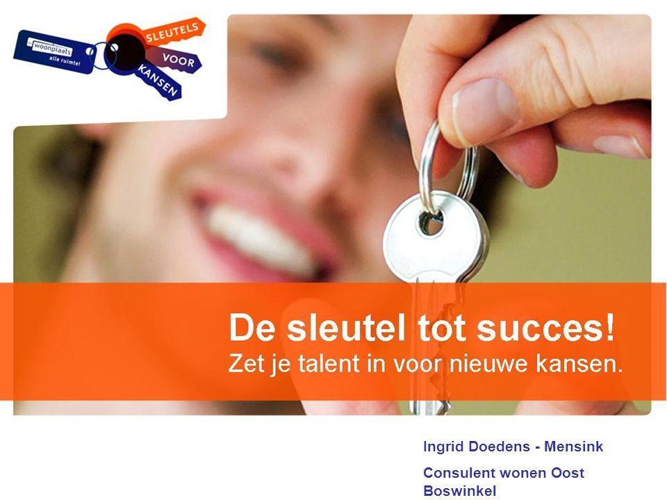 Ingrid Doedens - Mensink Consulent wonen Oost Boswinkel