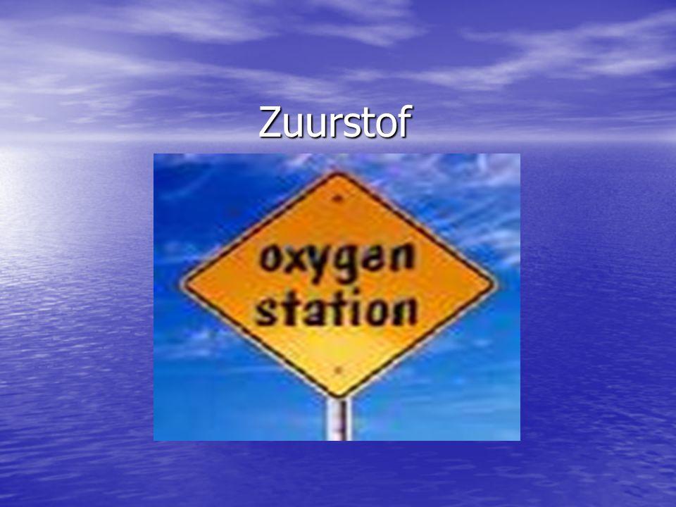 Zuurstof