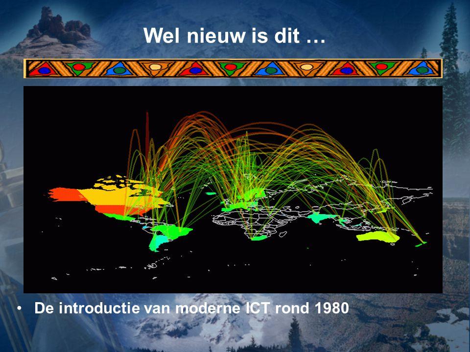 Wel nieuw is dit … De introductie van moderne ICT rond 1980