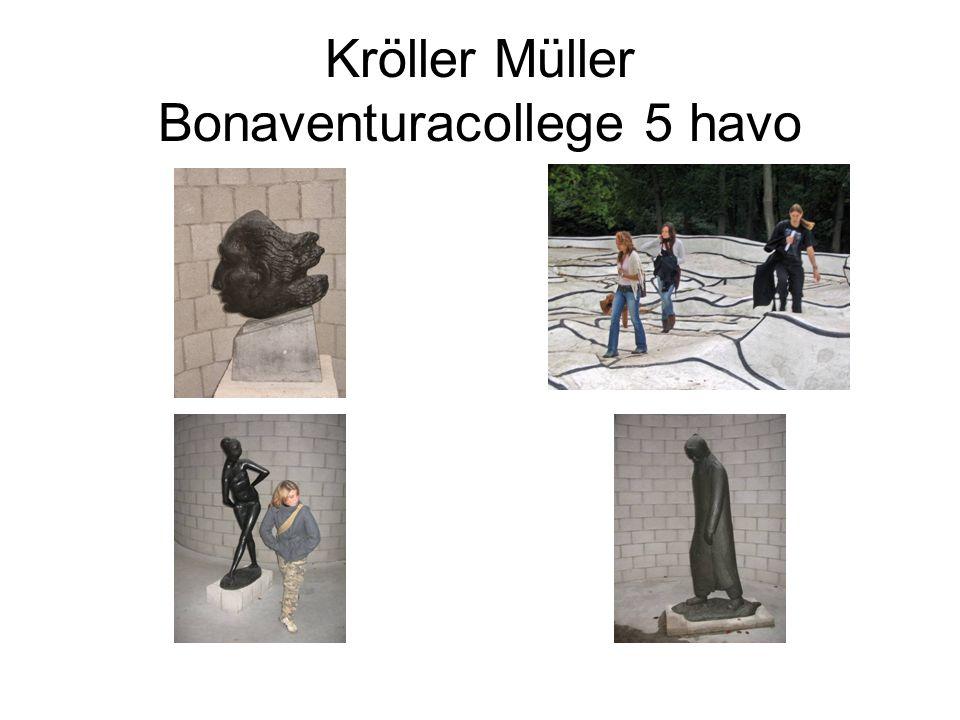 In het museum Leg uit wat je op de afbeelding links ziet.
