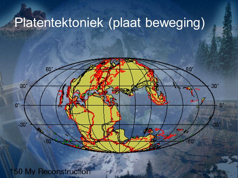 Wegener zag dat er overeenkomsten waren bij de kustlijnen.