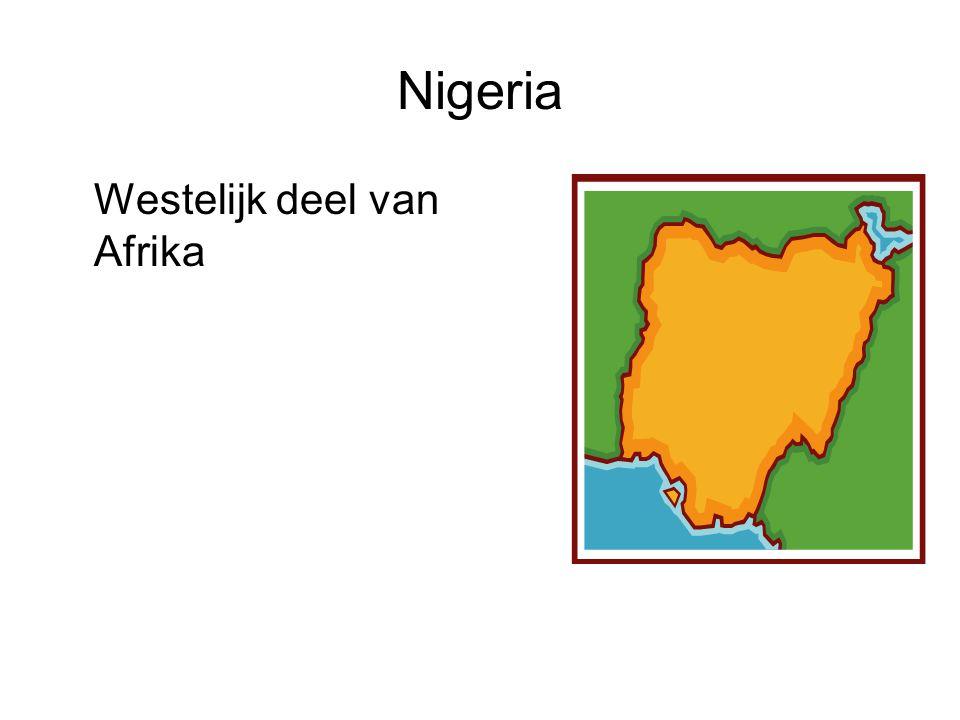 Nigeria Westelijk deel van Afrika