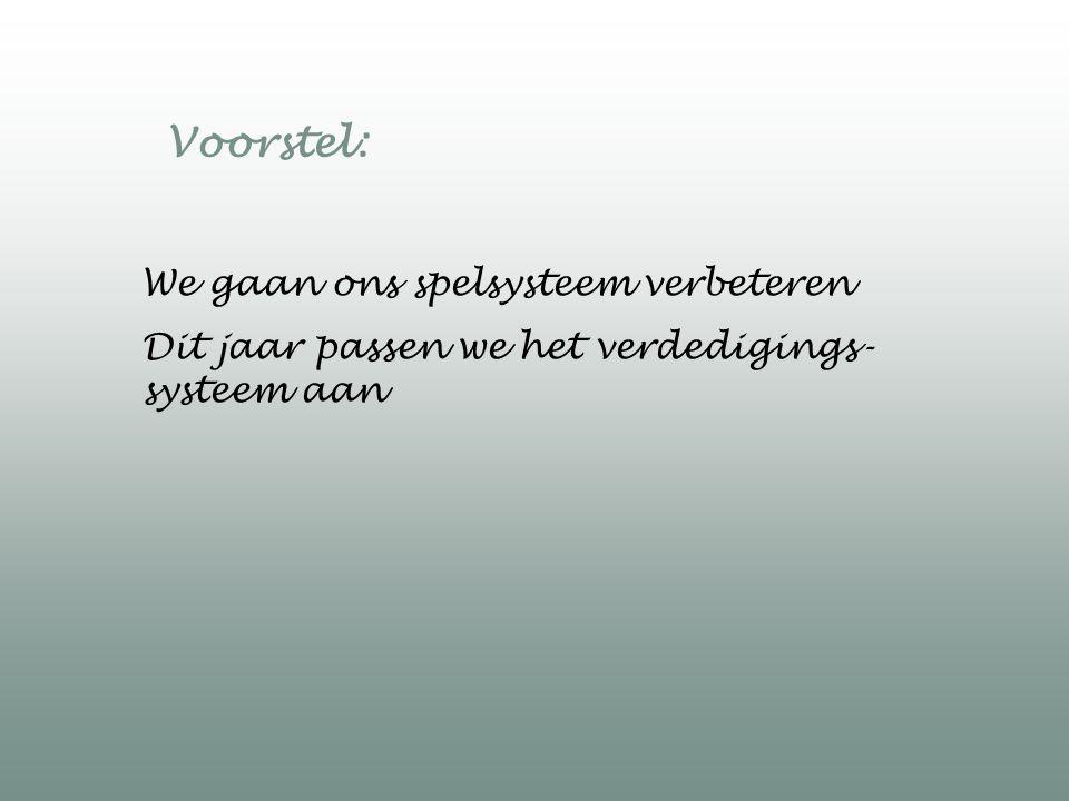 Systeem of geen systeem: de volgende afspraken gelden altijd 1.